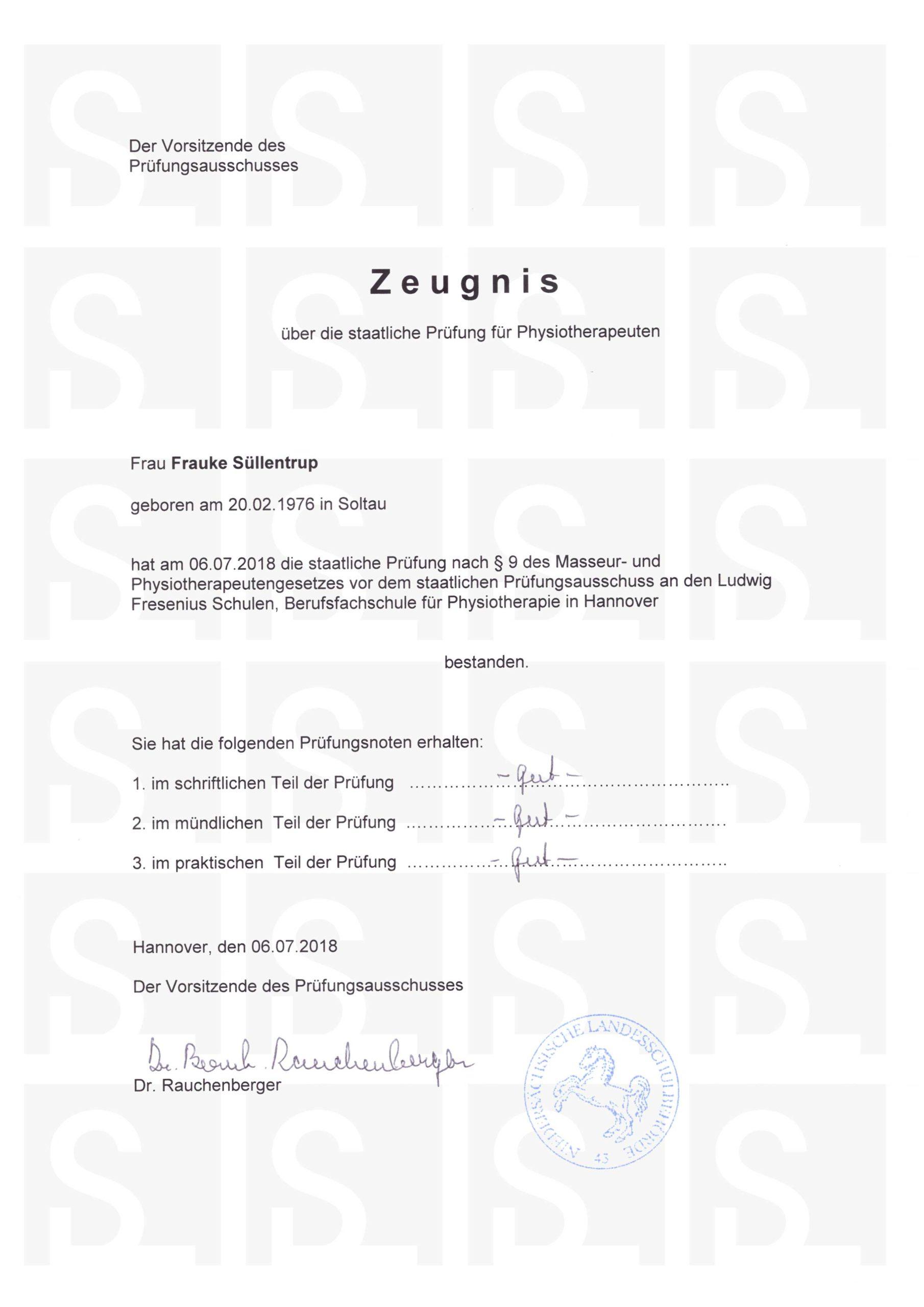 Physio_Zeugnis